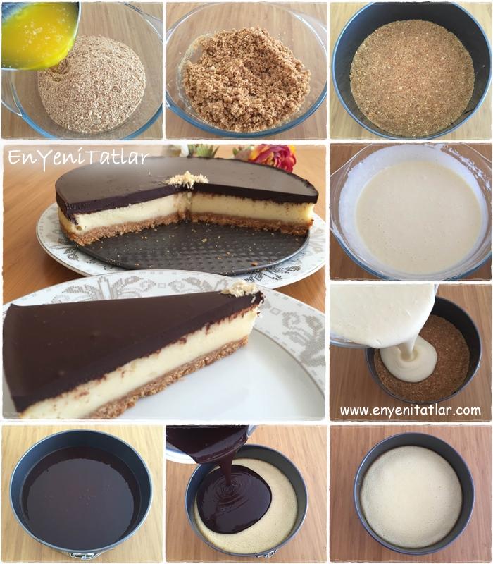 Cheese kek -hazırlanış-aşamaları